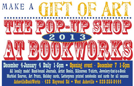Pop-Up Shop at BookWorks