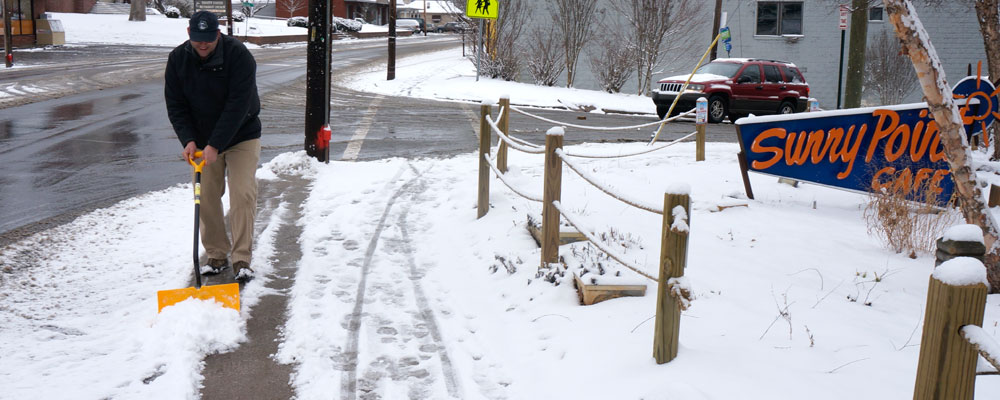 City of Asheville Initiates  Response to Winter Storm Warning