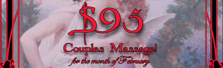 Ebb & Flow Offers Couples Massage Deal for Month of February