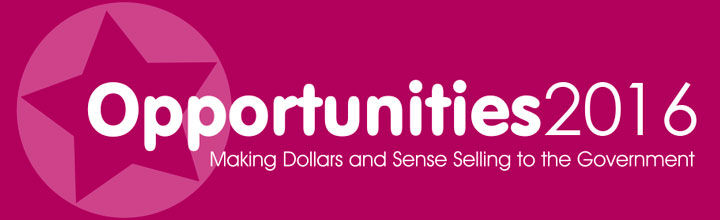 Opportunities 2016: Making Dollars and Sense Selling to the Government