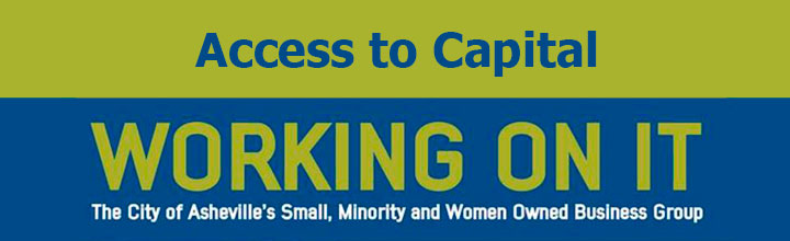 City of Asheville Small Business Group Program: Access to Capital