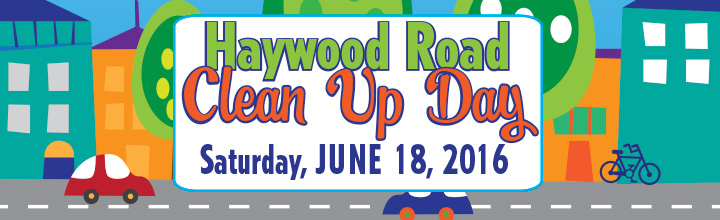June 18 Haywood Road Clean Up + Storm Drain Marking