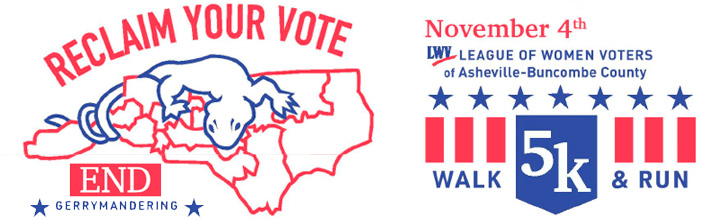 League of Women Voters Gerrymander 5K Sponsorship Opportunities