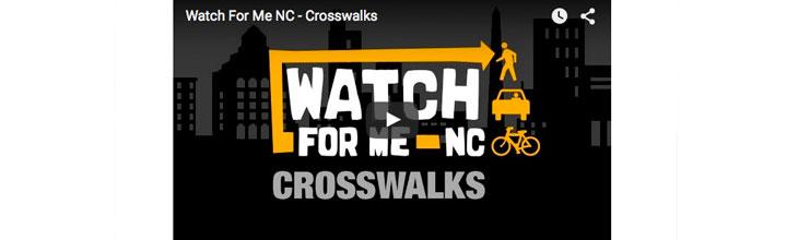 Watch For Me NC – Crosswalks