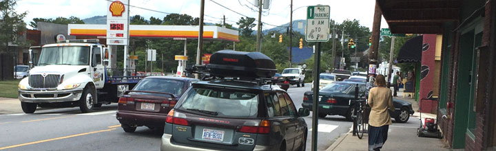 Questionnaire Launches in Wake of West Asheville Parking Study