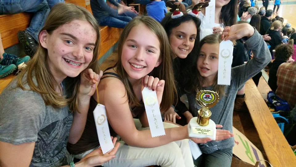 Rainbow's Odyssey of the Mind Places Third, Moves on to State Competition