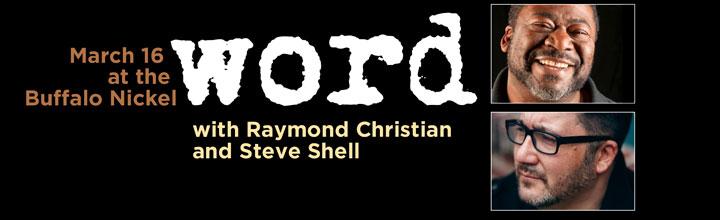 WORD Presented by David Joe Miller: March 16 at Buffalo Nickel