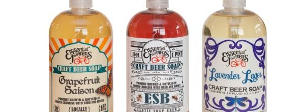 New for 2017 Craft Beer Soap from Essential Journeys
