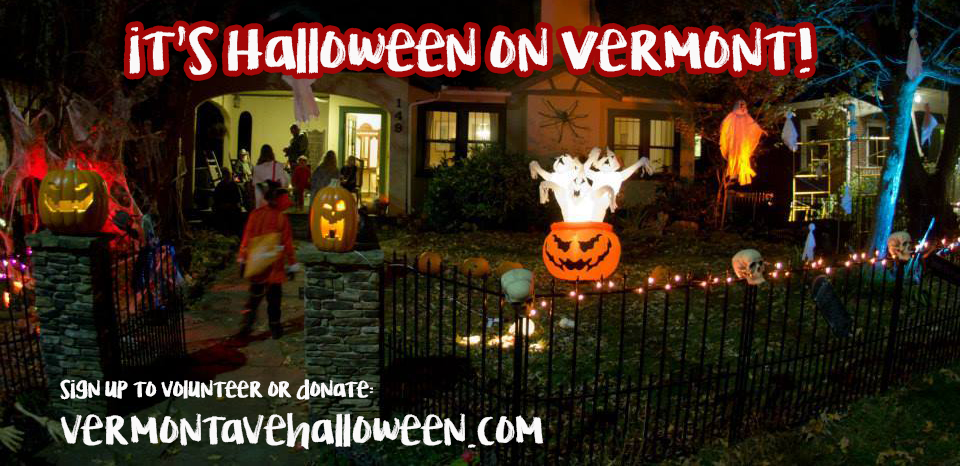 Vermont Avenue Halloween Festivities Looking for Volunteers and Sponsors