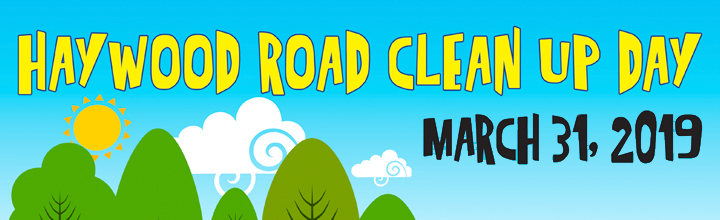 Haywood Road Clean Up Day – East End – March 31
