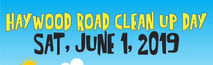 June 1 – Haywood Road Clean Up Day