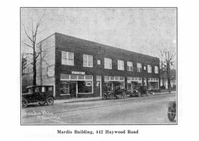Mardis Building 442 Haywood Road Historic West Asheville 1920s