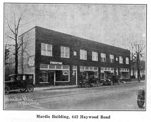 Mardis Building, 442 Haywood Road