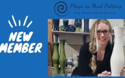 New Member: Kelsey Wheeler of Plays in Mud Pottery